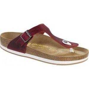 Birkenstock Women's Gizeh Oiled Leather Sandal